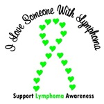 I Love Someone With Lymphoma T-Shirts & Apparel