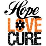 Leukemia Hope Love Cure Shirts & Gifts