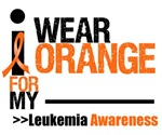 Leukemia I Wear Orange Ribbon T-Shirts & Gifts