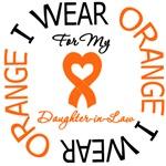 I Wear Orange Daughter-in-Law Leukemia Shirts