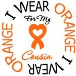 I Wear Orange Cousin Leukemia Shirts