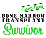 Certified Bone Marrow Transplant Survivor Shirts