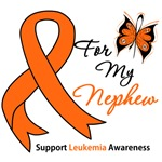 Leukemia Ribbon For My Nephew Shirts & Gifts