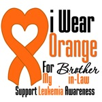 Leukemia I Wear Orange For Brother-in-Law Shirts