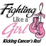 Fighting Like a Girl Kicking Breast Cancer's Ass