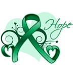 Hope Ribbon - Liver Cancer