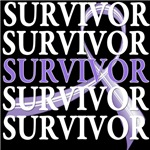 Survivor Collage Hodgkin Lymphoma Shirts