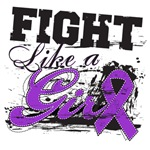 Fight Like Girl Splatter Lupus