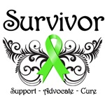 Survivor Ribbon Lymphoma Shirts and Gifts