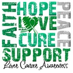 Hope Collage Liver Cancer Shirts and Gifts