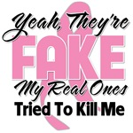Fake Breast Cancer Shirts and Gifts