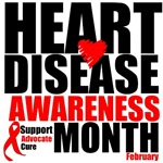 Heart Disease Awarenss Month Shirts and Gifts