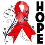 Hope Ribbon Heart Disease Shirts and Gifts