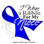 Niece Colon Cancer Support Shirts