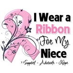 Niece Pink Ribbon Breast Cancer Shirts