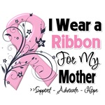 Mother Ribbon Breast Cancer Shirts