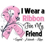 Friend Pink Ribbon Breast Cancer Shirts