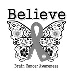 Believe - Brain Cancer Shirts and Gifts