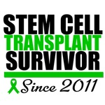 Stem Cell Transplant Survivor Since 2011 Shirts