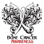  Butterfly Floral Bone Cancer Shirts and Gifts