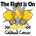 The Fight is On Against Childhood Cancer Shirts