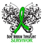 Butterfly Bone Marrow Transplant Survivor Shirts