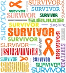 Survivor Colorful Leukemia Shirts and Gifts