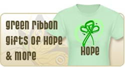 Green Ribbon Shirts & Gifts of Hope and More