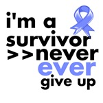 Never Give Up Esophageal Cancer Shirts