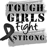 Skin Cancer Tough Girls Fight Strong Shirts