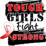 Oral Cancer Tough Girls Fight Strong Shirts