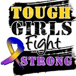Bladder Cancer Tough Girls Fight Strong Shirts