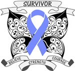 Esophageal Cancer Survivor Butterfly Shirts