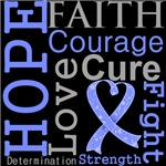 Hope Faith Courage Esophageal Cancer Shirts