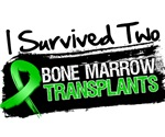 I Survived TWO Bone Marrow Transplants Shirts
