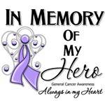 In Memory of My Hero General Cancer Shirts