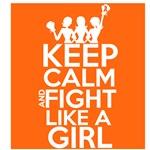 Leukemia Keep Calm and Fight Like a Girl