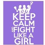 Hodgkin Lymphoma Keep Calm and Fight Like a Girl