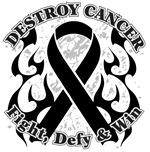 Destroy Melanoma Cancer Shirts and Gear