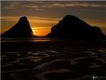 Heceta Head at Sunset