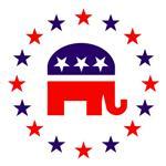 Classic Republican Elephant Logo