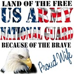Land of The Free..Because of The Brave..Proud Wife