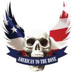American to the Bone Skull