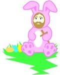 Easter Bunny Jesus