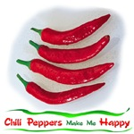 Chili Peppers Make Me Happy