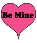 Be Mine Pink Candy heart