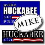 Mike Huckabee Campaign Stickers