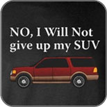 Won't Give Up SUV