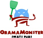 Obama Monster Swats Flies