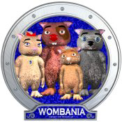 Wombies' Group Portrait Blue Version